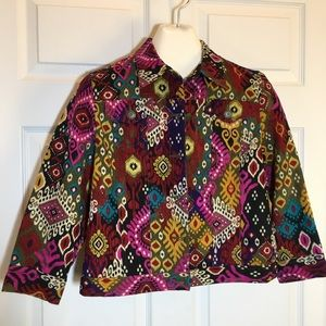 Ruby Road Petite Colorful Jacket Size 10P